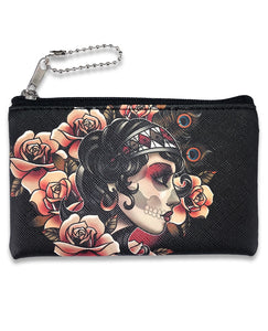 Gypsy Roses Purse w/ Coin