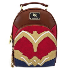 DC COMICS WONDER WOMAN COSPLAY MINI BACKPACK
