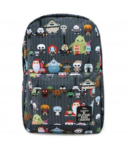 The Nightmare Before Christmas Chibi Print Backpack