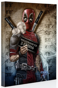 Deadpool Mugshot