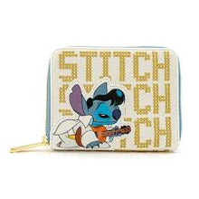 DISNEY LILO AND STITCH ELVIS STITCH ZIP AROUND WALLET