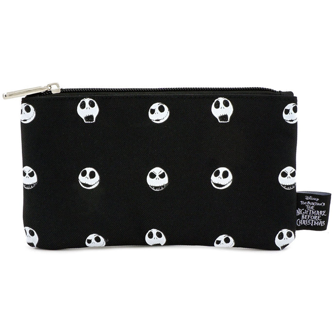 NIGHTMARE BEFORE CHRISTMAS JACK HEAD AOP NYLON POUCH