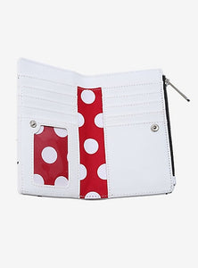MINNIE MOUSE SCATTERED LETTERS WALLET