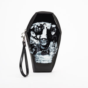Monster Collage Coffin Wallet