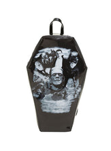 """MONSTER COLLAGE"" COFFIN BACKPACK"