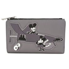 MICKEY MOUSE PLANE CRAZY FLAP WALLET