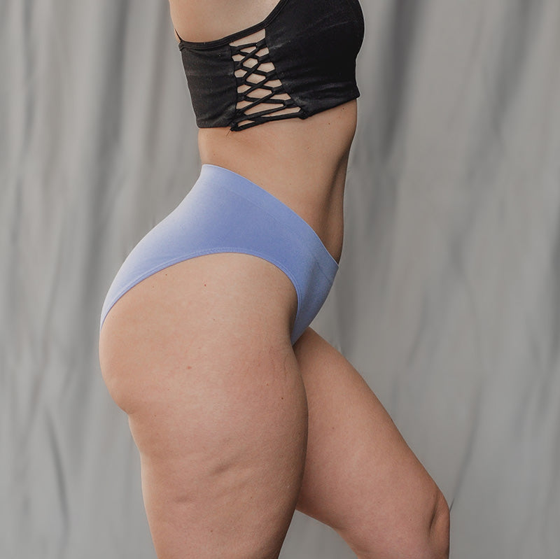 Beige everyday high waist bamboo underwear available online in plus sizes up to 3XL