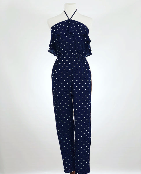 Dark Side of the Moon Navy Jumpsuit