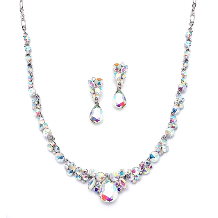 Regal AB Crystal Necklace