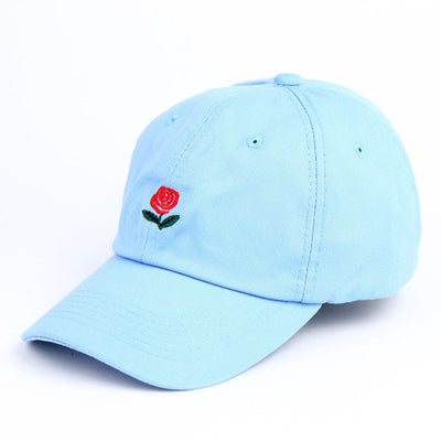 Rose Flower Dad Hat