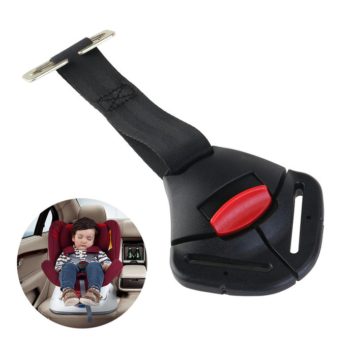 Babys Safety Seat Strap And Buckle