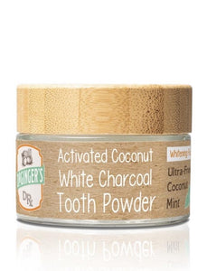 WHITE CHARCOAL TOOTH POWDER  Brand New