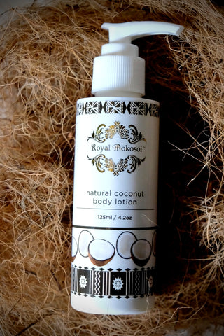 Natural Coconut body lotion
