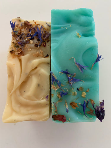 Lavender & Eucalyptus & Lemon Myrtle Home Made Soaps by Fresh Scrubs  pack of 2