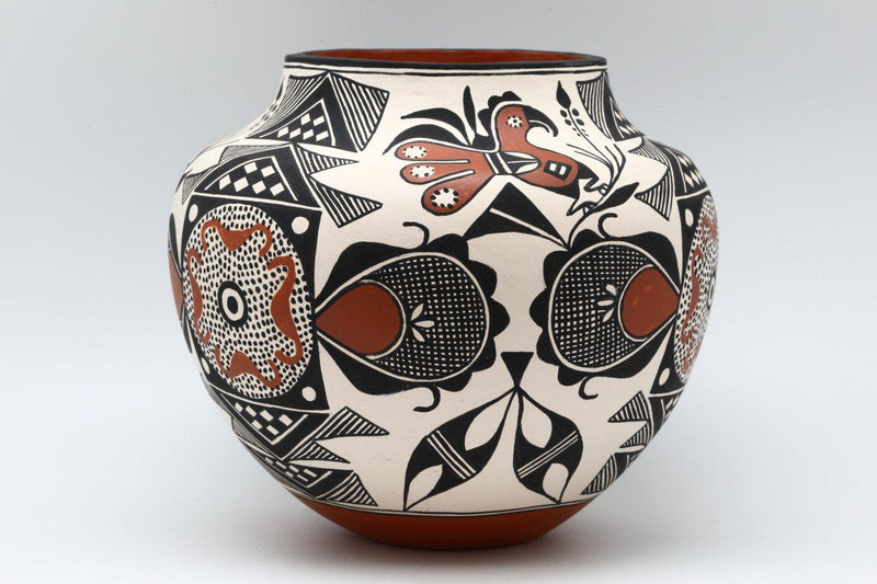 Acoma Fertility Pot-Lema's Kokopelli Gallery