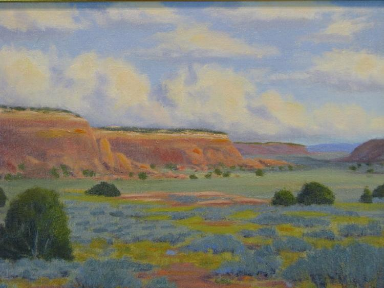 Canyonlands Mesa Oil Painting on Canvas-Lema's Kokopelli Gallery
