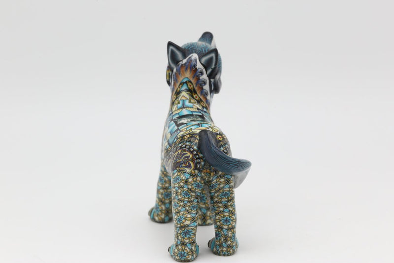 Fimo Baby Wolf New Design-Lema's Kokopelli Gallery