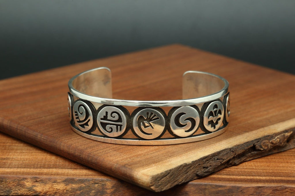 Hopi Cut Out Bracelet-Lema's Kokopelli Gallery