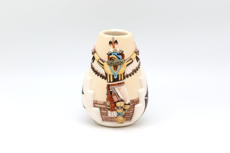 Hopi Eagle Dancer Pot-Lema's Kokopelli Gallery