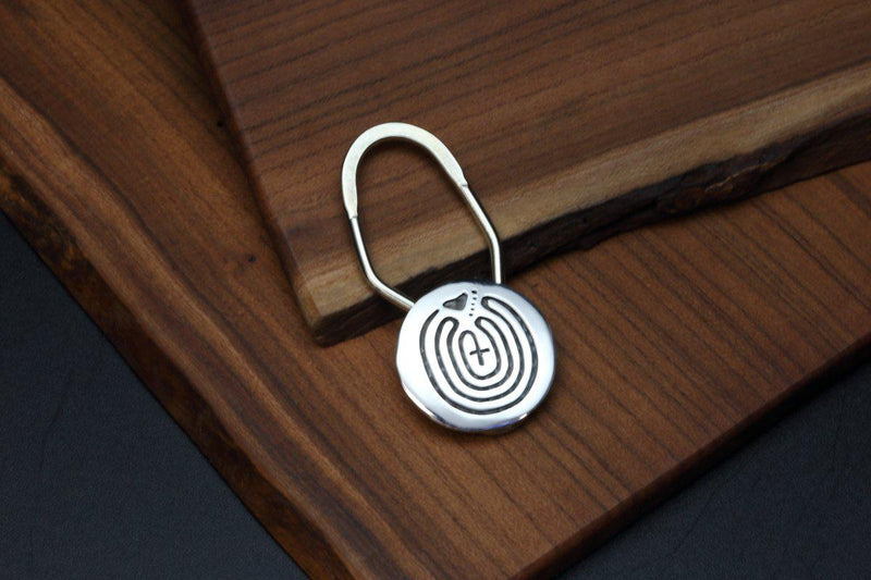 Hopi Journey Maze Key Ring-Lema's Kokopelli Gallery