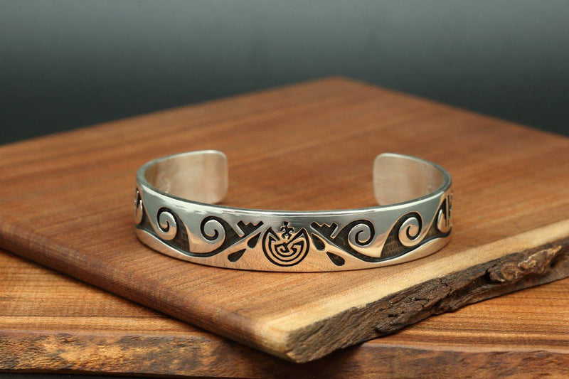 Hopi Man in the Maze Bracelet-Lema's Kokopelli Gallery