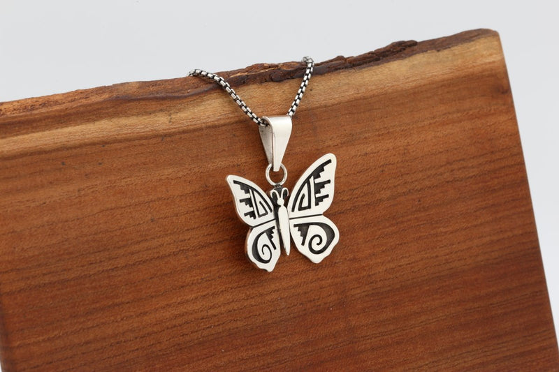 Hopi Medium Butterfly Pendant