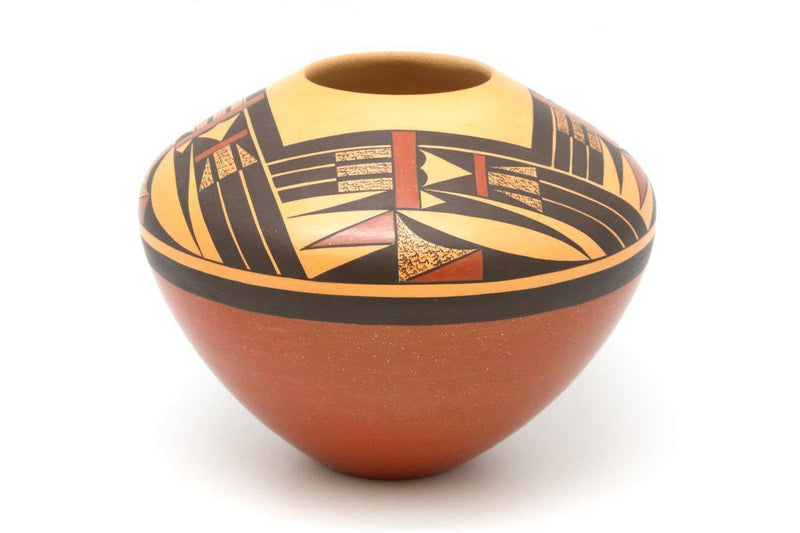 Hopi Polychrome Pot-Lema's Kokopelli Gallery