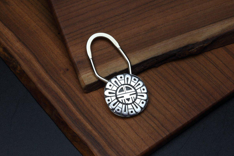 Hopi Sunface Key Ring-Lema's Kokopelli Gallery