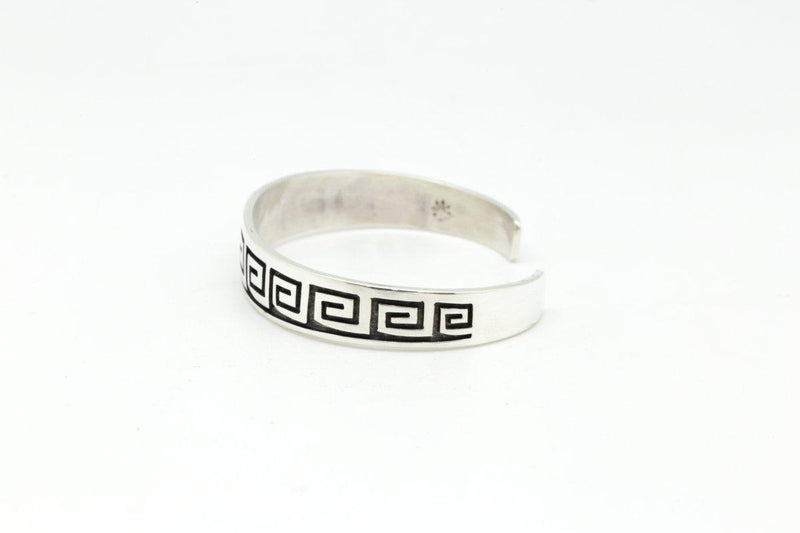 Hopi Tapered Whirling Wind Bracelet-Lema's Kokopelli Gallery