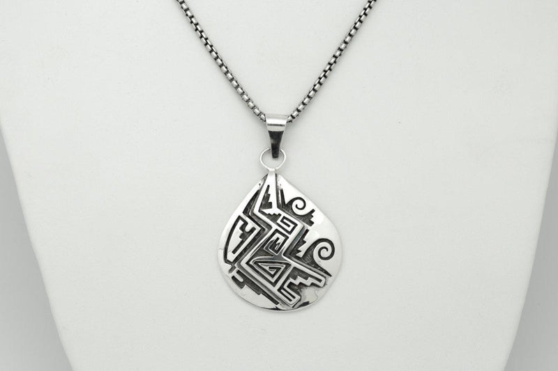 Hopi Weather Pendant-Lema's Kokopelli Gallery