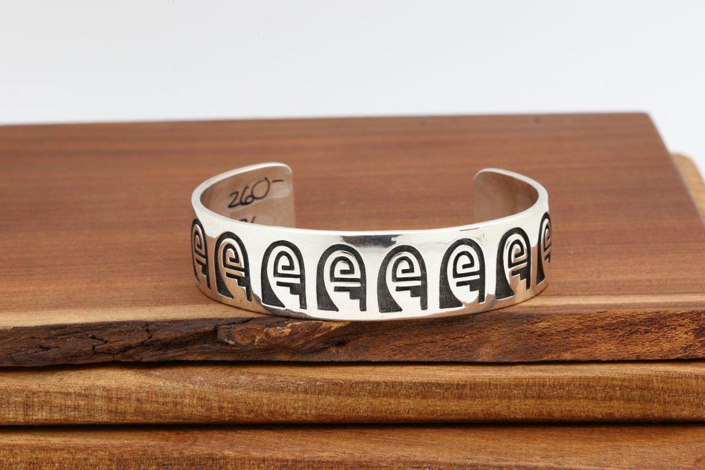 Hopi Whirling Wind & Rain Cloud Bracelet-Lema's Kokopelli Gallery