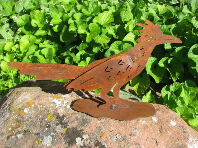 Mini Road Runner Yard Art, Small-Lema's Kokopelli Gallery