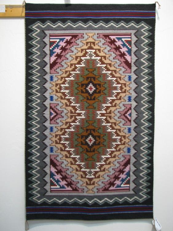 Navajo Burntwater Rug by Rena Whiting-Lema's Kokopelli Gallery