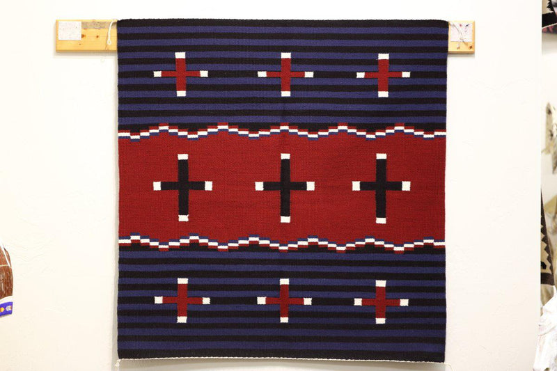 Navajo Chief Blanket by Lillie Begay-Lema's Kokopelli Gallery