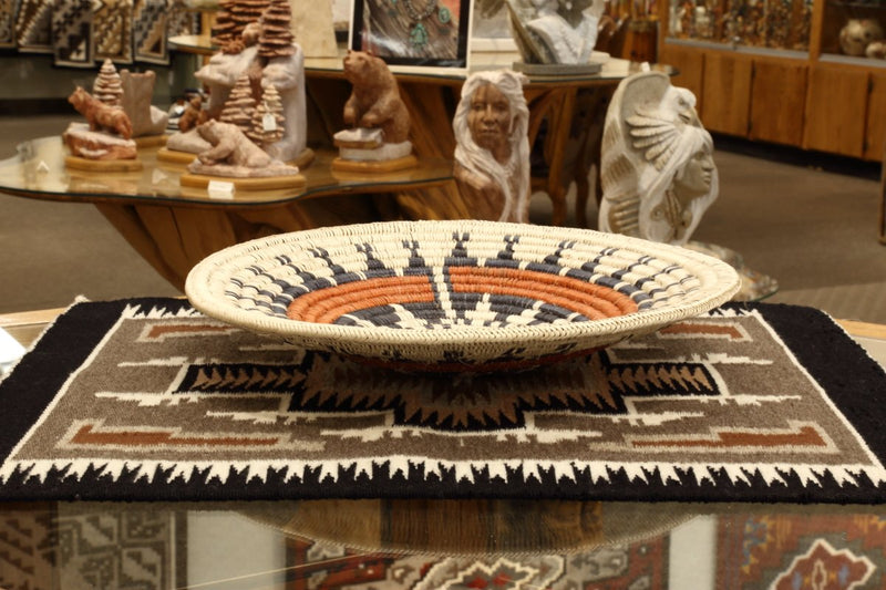 Navajo Horse Basket by Grace Laughter-Lema's Kokopelli Gallery