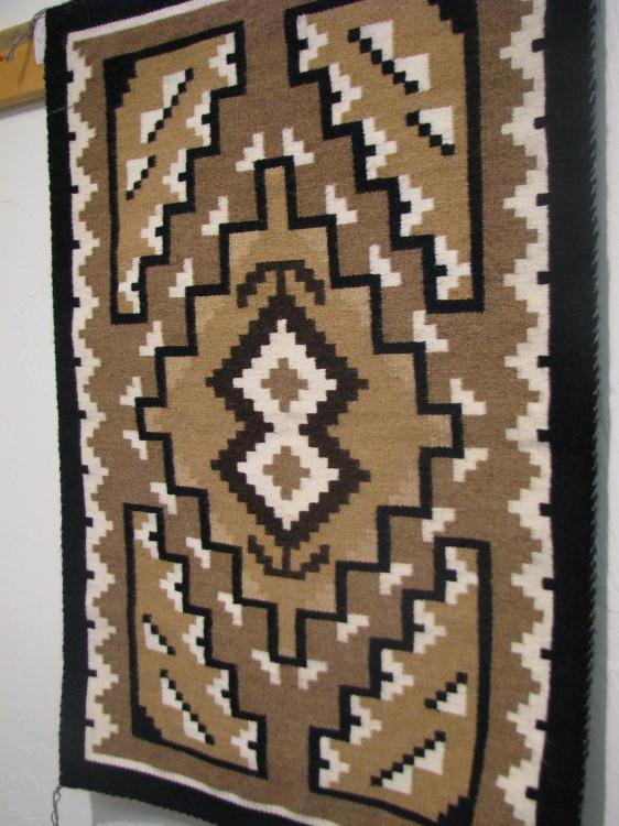 Navajo Two Grey Hills by Darlene Thomas-Lema's Kokopelli Gallery
