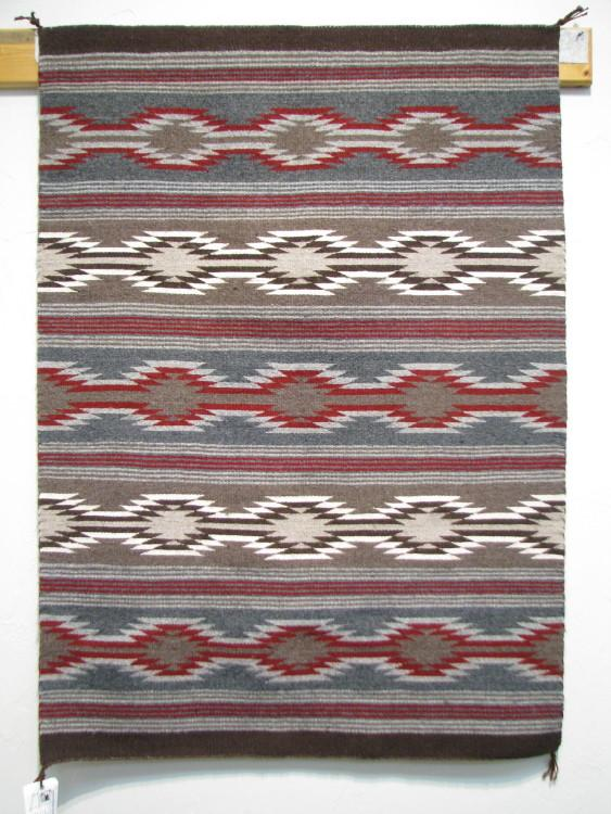 Navajo Wide Ruins Rug by Alice Defoe-Lema's Kokopelli Gallery