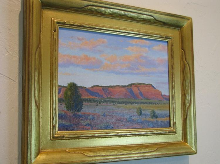 Red Mesa Southwest Oil Painting on Canvas-Lema's Kokopelli Gallery