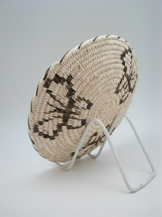 Tohono O'Odham (Papago) Indian Basket with Butterfly Designs-Lema's Kokopelli Gallery
