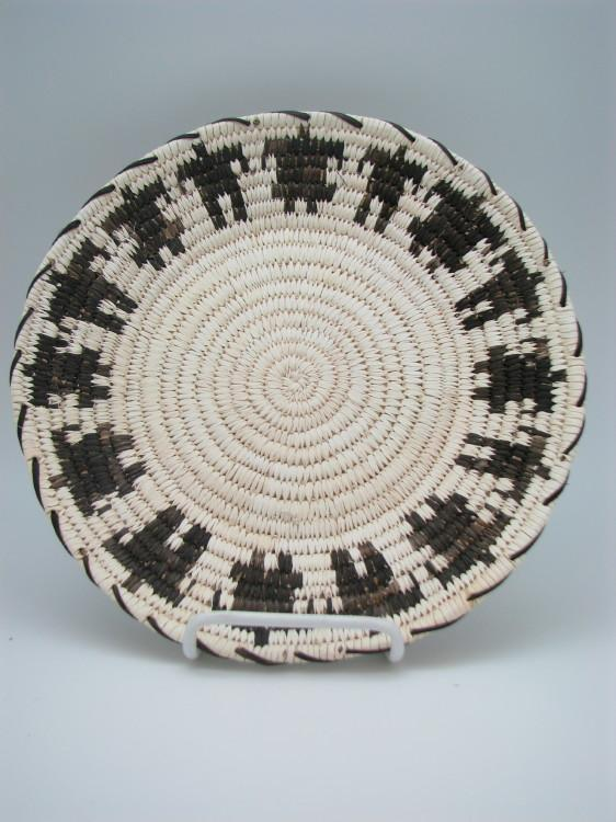 Tohono O'Odham (Papago) Indian Basket with Friendship Dancers-Lema's Kokopelli Gallery