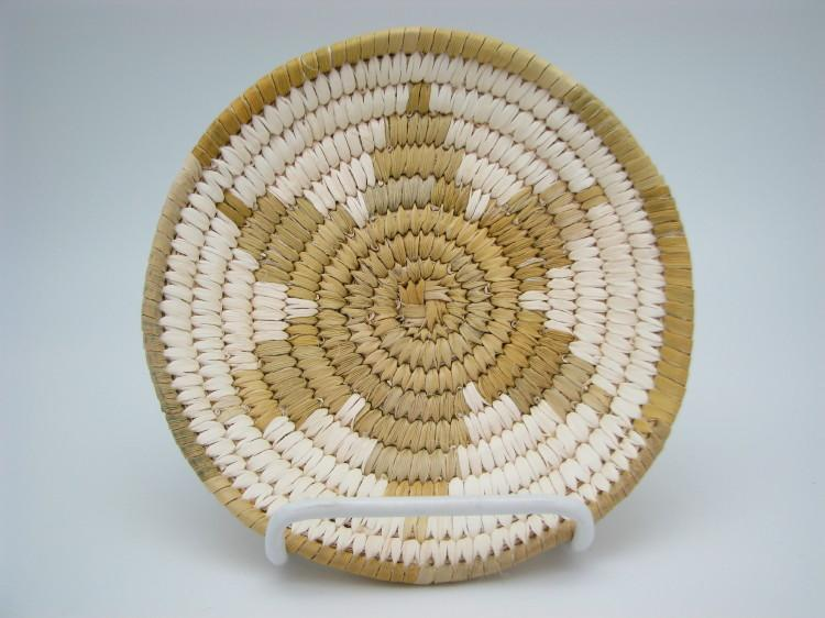 Tohono O'Odham (Papago) Indian Basket with Star Design-Lema's Kokopelli Gallery