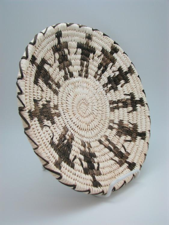 Tohono O'Odham (Papago) Indian Friendship Basket by Angelina Lewis-Lema's Kokopelli Gallery