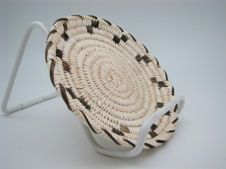 Tohono O'Odham (Papago) Rim Design Indian Basket-Lema's Kokopelli Gallery