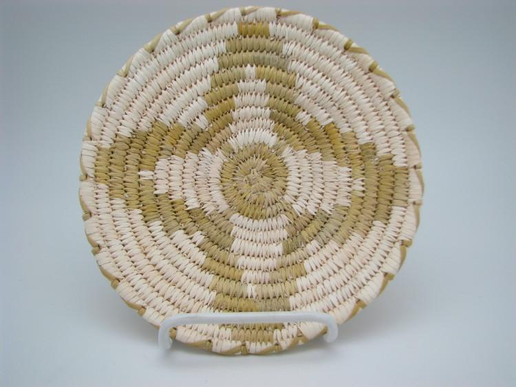 Tohono O'Odham (Papago) Star Indian Basket-Lema's Kokopelli Gallery