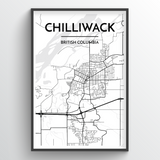 Chilliwack City Map