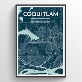 Coquitlam City Map