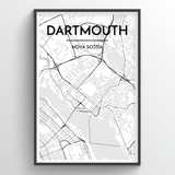 Dartmouth Map Art