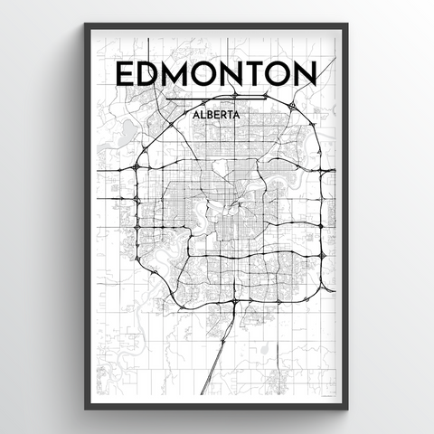 Edmonton City Map