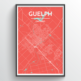 Guelph City Map