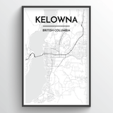Kelowna City Map